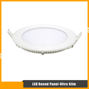3W/6W/9W/12W/15W/18W/24W Ultra Slim SMD LED Round Panel Light