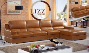 Pinyang Modern Living Room PU Leather Sofa for Home L. P6013 pictures & photos