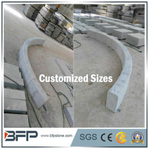 Popular Chinese Ntural Stone Grey Granite Kerbstone for Road/Parking/Garden pictures & photos