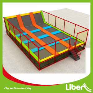 Factroy Liben Brand Big Indoor Commercial Trampoline for Park pictures & photos