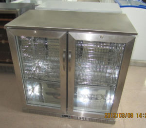 Upright Glass Door Back Bar Display Cooler with Fan Assisted pictures & photos