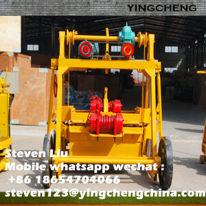Movable Egg Laying Block Machine Portable Mobile Concrete Brick Machine pictures & photos