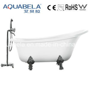 Luxury Acrylic Clawfoot Solid Surface Hot Tubs (JL624) pictures & photos