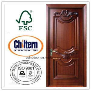 100% Solid Wooden Door/ Exterior Door with Factory Price pictures & photos