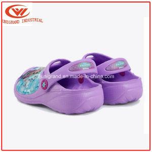 Summer Frozen Kids Garden Shoes Confortable Clog Shoes for Children pictures & photos