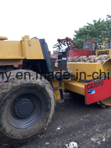 Sheep-Feet-Capped 12~25ton Deutz-Engine 40FT-Container-Shipping Used Dynapac Ca30pd Road Roller pictures & photos