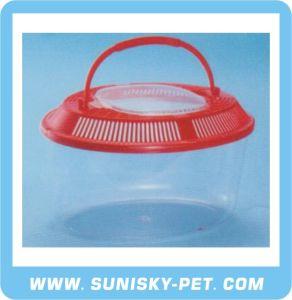 Oval Shape Transparent Plastic Pet Carrier (SFT-265A) pictures & photos