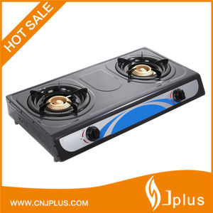 Hot Sale Double Cast Iron Burner Gas Cookers (JP-GC206T) pictures & photos