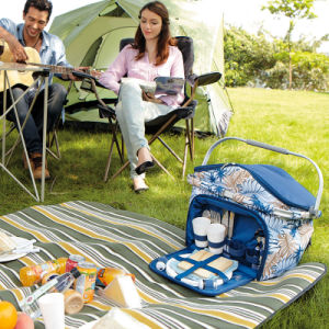 Fashion Picnic Bag (KC-35) Cooler Bag, Basket for 4 Person
