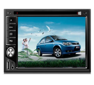 Android 4.4 6.2′′ Double DIN TFT LCD Screen DVD Player pictures & photos