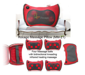 Car and Home Vibration Portable Back Massager Pillow pictures & photos