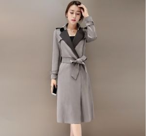 Latest Fashion Plus Size High Quality Suede Winter Women Jacket pictures & photos