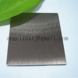 Hot Sell Dubai 430 No. 4 Hairline Finish Stainless Steel Sheet with PVC Film pictures & photos