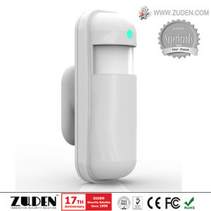 Wireless Mini Wde Angle PIR Motion Detector pictures & photos