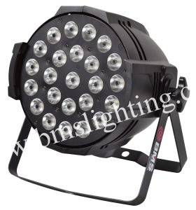 24PCS RGBWA+UV 6 in 1 LED PAR Light