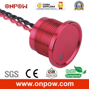 Onpow 22mm Piezoelectric Switch with DOT Light (PS223Z10YSS1R12D, CE, RoHS) pictures & photos