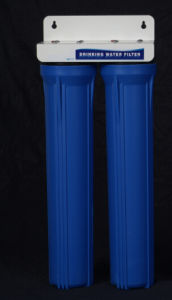 "Two Stages Water Filter System with 20"" Housings pictures & photos"