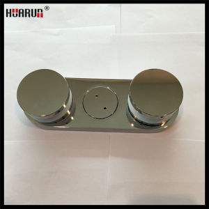 New Casting High Quality Stainless Steel Glass Fitting Fixed On Wall (HR1300V-16C) pictures & photos