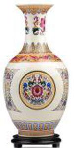 Chinese Antique Porcelain Color Enamels Vase pictures & photos