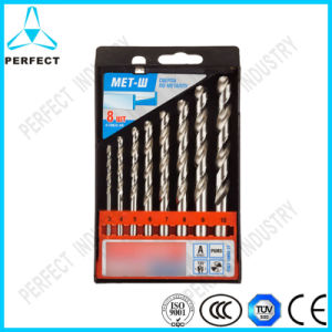 8PCS HSS T-4241 Roll & Polished Metal Drill Bit Set pictures & photos