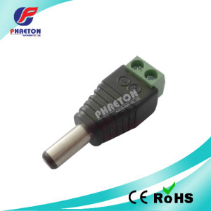 Male Plug 2.1mm CCTV DC Power Connector Jack pictures & photos