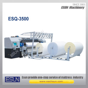 Esq-3500 Newest High Speed Computerized Multi-Needle Chain Stitch Quilting Machine pictures & photos