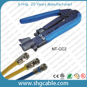 Profession Coaxial Cable Rg59 RG6 Rg11 Compression Tool (NT-CC2) pictures & photos