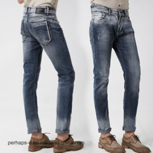 2016new High quality Elastic Jeans Men′s Slim Pants pictures & photos