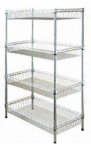 Stainless Steel Wire Warehouse Office Home Kitchen Display Shelving pictures & photos