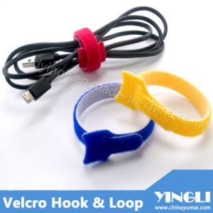 Reusable Hook & Loop Tape in T-Shape pictures & photos