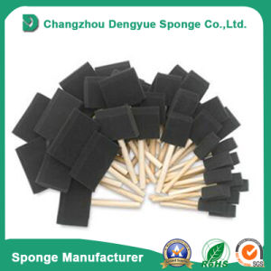 Good Quality Plastic Handle New Style Paint Sponge Brushes pictures & photos