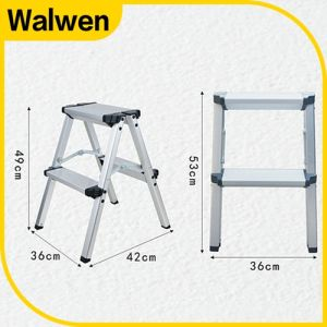 Top Quality Safe Folding Portable Aluminum Step Ladder pictures & photos