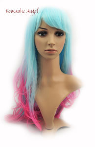 Beautiful Dye Color Synthetic Halloween Wigs pictures & photos