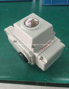Passive Contact Type Rotary Electric Actuator DC24V, AC110V/220V/380V pictures & photos