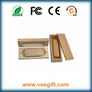 Popular Promotional Gift Wooden USB Pendrive pictures & photos