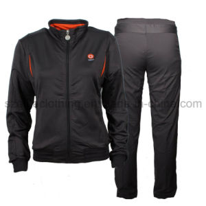 Black American Tracksuits for Sports (ELTTSJ-25) pictures & photos