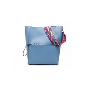 Simplicity PU Bag in Bag Ladies Tote Bag Designer Handbags Wzx1196 pictures & photos
