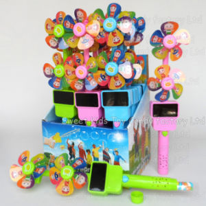 Musical Flash Windmill Candy Toys (131115) pictures & photos