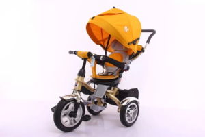 2016 Hot 3 Wheels Tricycle Ride on Toy 4 in 1 Baby Trike pictures & photos