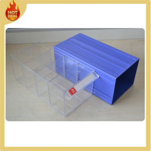 Plastic Parts Storage Bin with Locking Lid pictures & photos