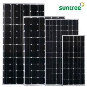Mono Monocrystalline Solar Panel 250 Watt Solar Panel 250W pictures & photos