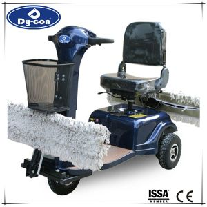 Flexible Small Ride on Dust Cart for Warehouse pictures & photos