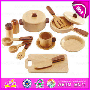 New Arrival Wooden Education Role Play Set Wooden Kitchenware Cooking Toy W10b127 pictures & photos