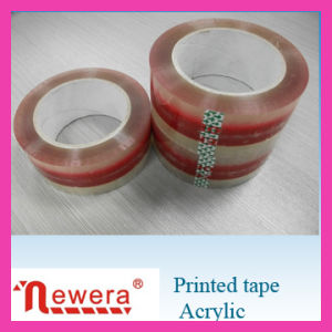 Cheap Price Made in China Box Sealing Hot Melt BOPP Printed Tape pictures & photos