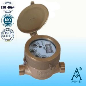 Rotary Vane Wheel Single-Jet Semi-Dry Water Meter (LXSY-13D) pictures & photos