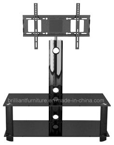 Glass Living Room Furniture LCD TV Stand with Bracket (BR-TV140A)