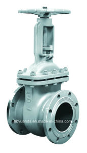 GOST cast steel wedge gate valve Z41H-16C PN16 pictures & photos