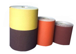 0.15X50m Aluminium Oxide Grinding Abrasive Cloth for Automotive Grinding pictures & photos