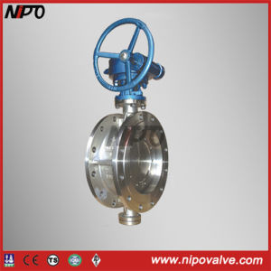 Stainless Steel Triple Eccentric Butterfly Valve pictures & photos