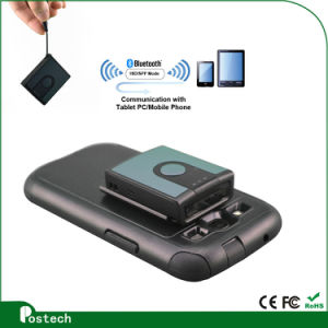 CE RoHS Approved Mini Bluetooth Barcode Scanner for Smartphone pictures & photos